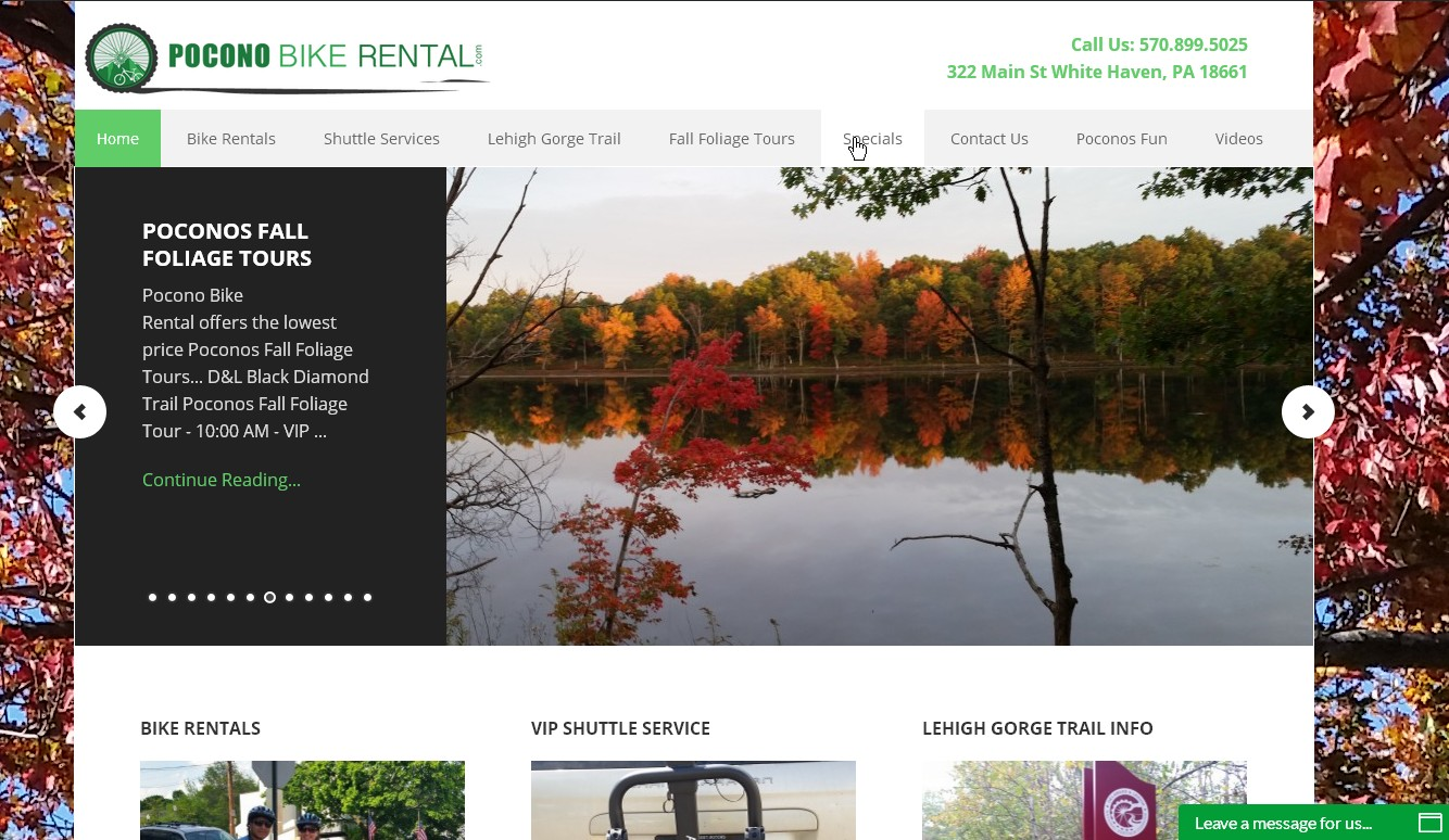 http://poconobikerental.com/wp-content/uploads/2016/09/Pocono-Bike-Rentals-VIP-Shuttles-Service-and-Outdoor-Adventure-Activities