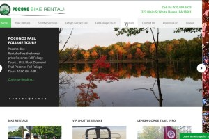 PoconoBikeRental.com, Your One Stop Shop for Outdoor Activities in the Poconos