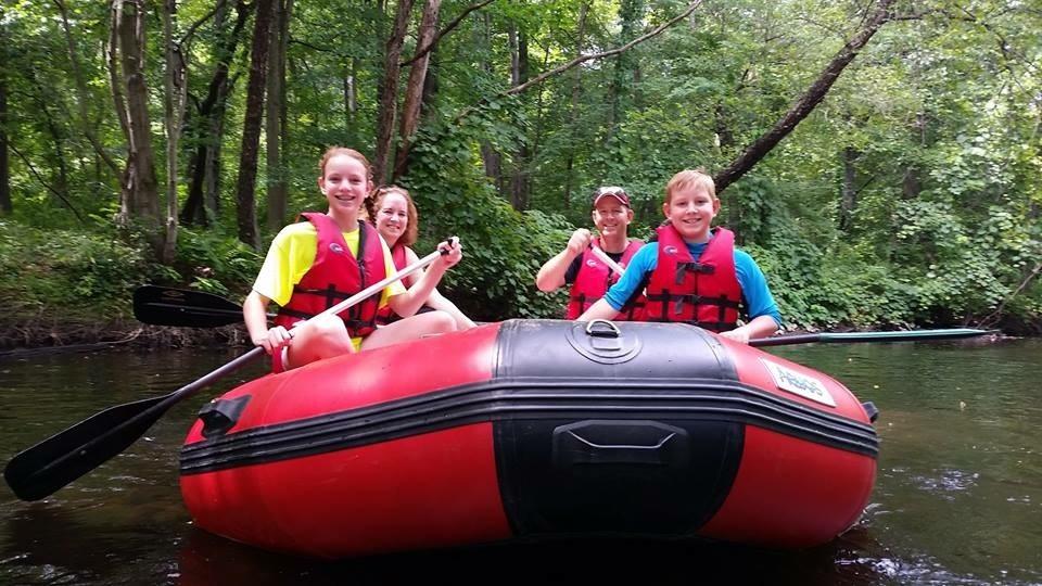 Whitewater Rafting Lehigh River Poconos