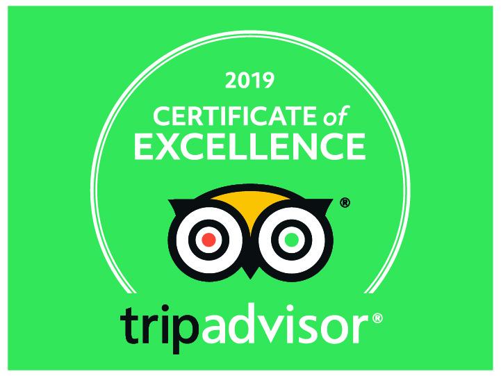 Trip Advisor Certificate of Excellence PoconoBikeRental.com