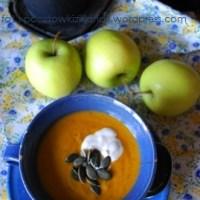 Bardzo angielska zupa dyniowa