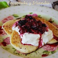Black Forest Fruits Pancakes
