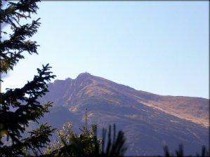 Widok z Białej Czubki, w tle Kasprowy Wierch - sierpień 2012