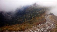 Spojrzenie w kierunku Doliny Starorobocianskiej - wrzesień 2012