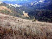 Widok z góry na Dolinę Kondratową - październik 2012