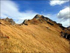 Widok na Goryczkową Czubę - październik 2012