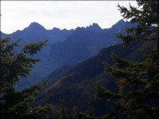Widok z Gęsiej Szyi - październik 2012