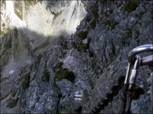Orla Perć - widok z podejścia na Kozie Czuby - 5 sierpnia 2013