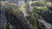 Dolina Gąsienicowa - spojrzenie na próg skalny, za którym znajduje się Zmarzły Staw - 23 lipca 2013