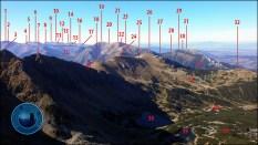 "E-book ""Fotograficzna topografia Tatr"" - widok z Kościelca (2155 m n.p.m.)"