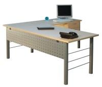 Metal Leg L-Shape Desk - Office Desks | Podany's