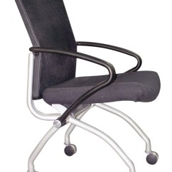 Side Chairs With Casters Vintage Ekornes Stressless Chair Mesh Caster Office Podany 39s