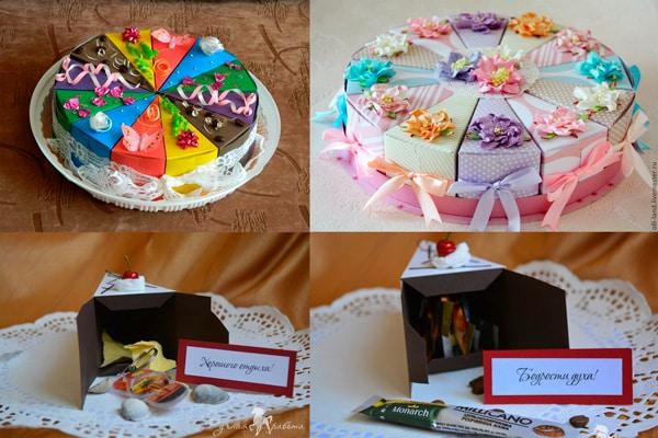 Gâteaux en papier