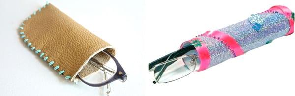 Házi szemüvegtok