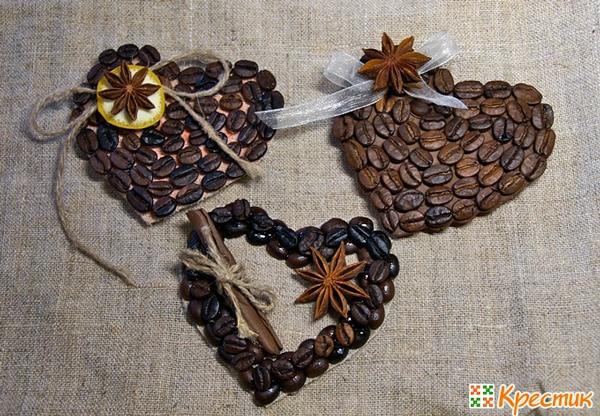 Eredeti mágnesek szemes kávéból