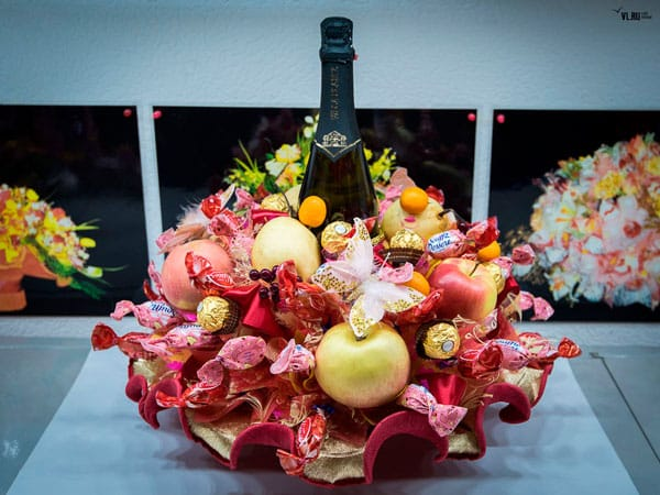 Top 5 buquês incomum: frutas, brinquedos, doces