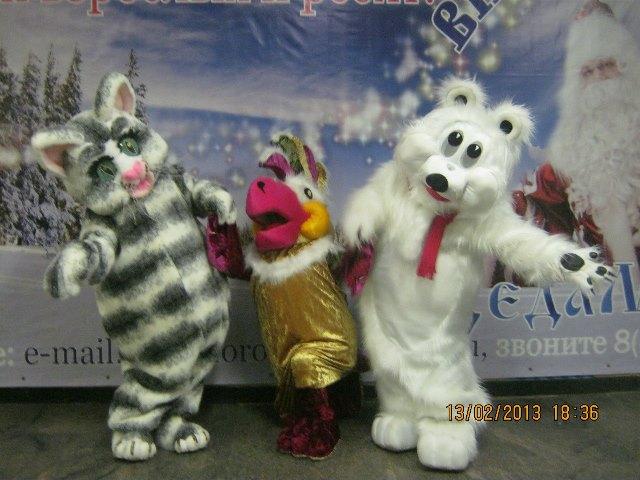Ростовые куклы для праздников.
