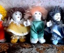 Текстильные куклы «Дни недельки»