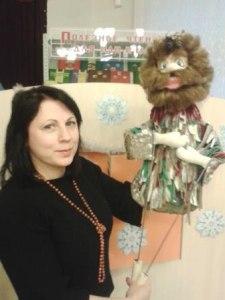 Театральная кукла Леший.