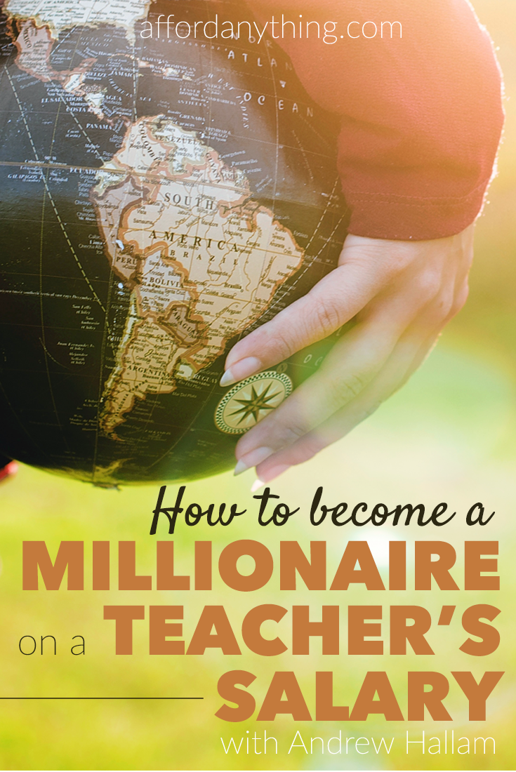 I interview Andrew Hallam, author of The Millionaire Teacher, about how he reached financial independence at age 41 on a teacher's salary.