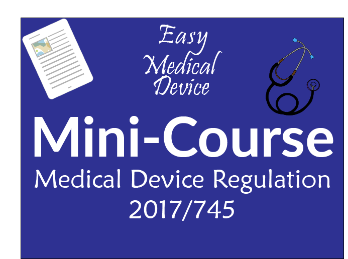 Mini-course MDR 2017/745 free email course - Certificate of completion