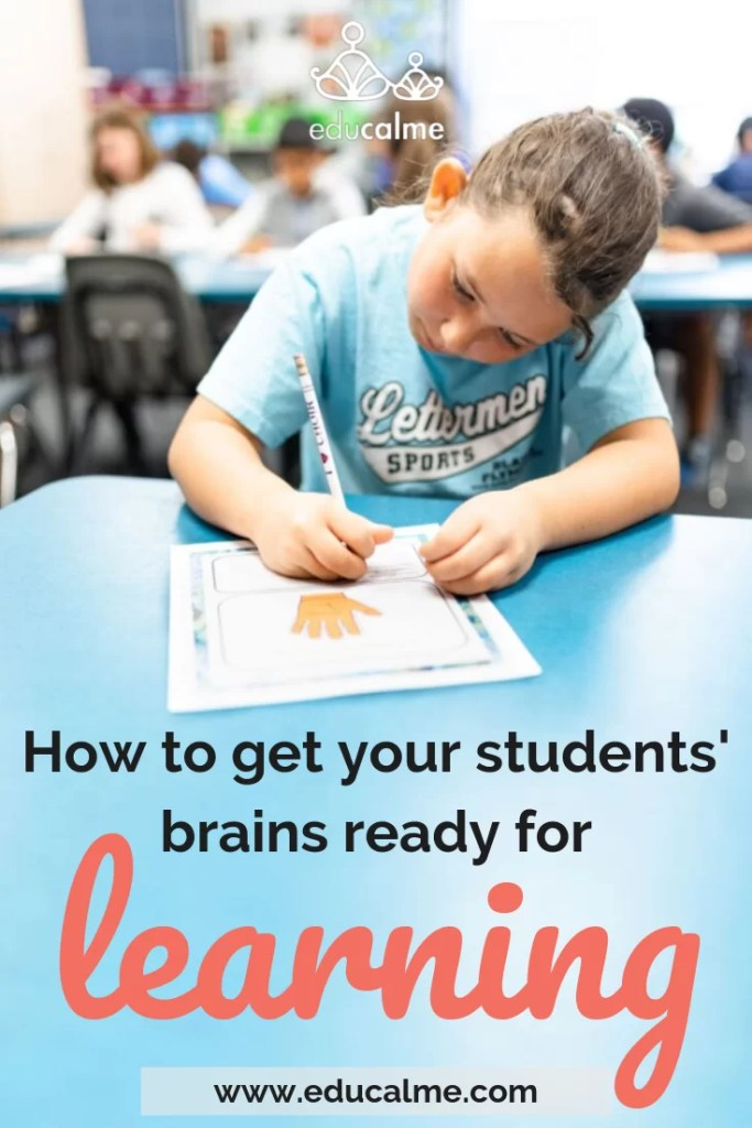 How to get your students ready for learning