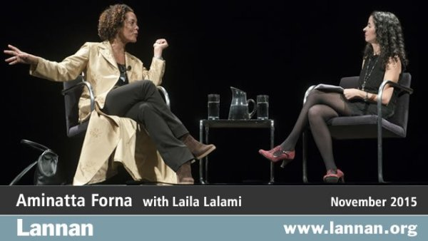 Aminatta Forna with Laila Lalami, 11 November 2015