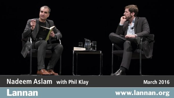 Nadeem Aslam with Phil Klay, 30 March 2016