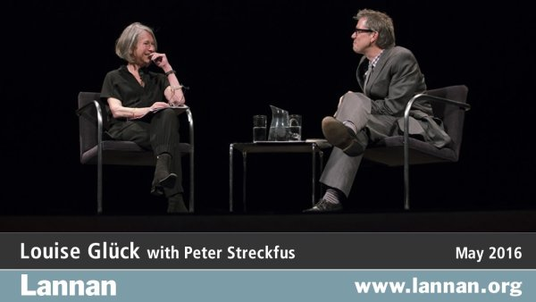 Louise Gluck with Peter Streckfus