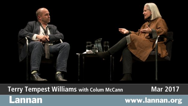 Terry Tempest Williams with Colum McCann
