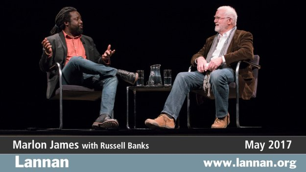 Marlon James with Russell Banks