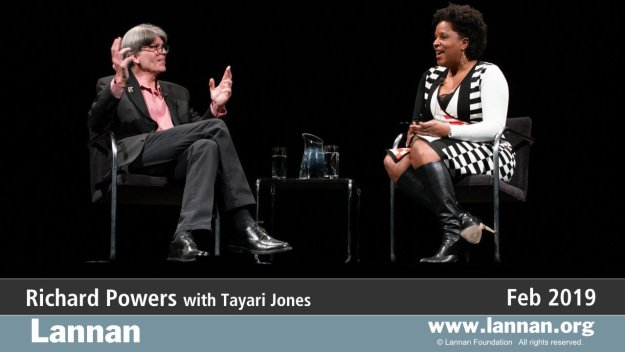 Richard Powers with Tayari Jones