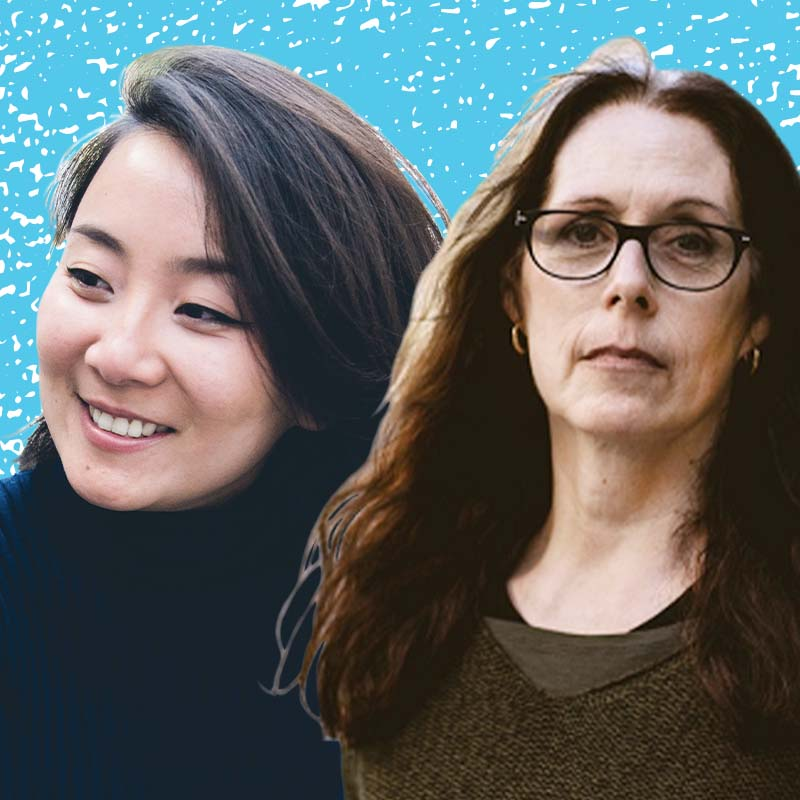 Marie Lu and Laurie Halse Anderson