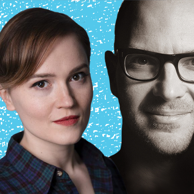 Veronica Roth and Cory Doctorow
