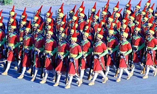 Qizilbash parade. איראניום מועשר, ציר זמן