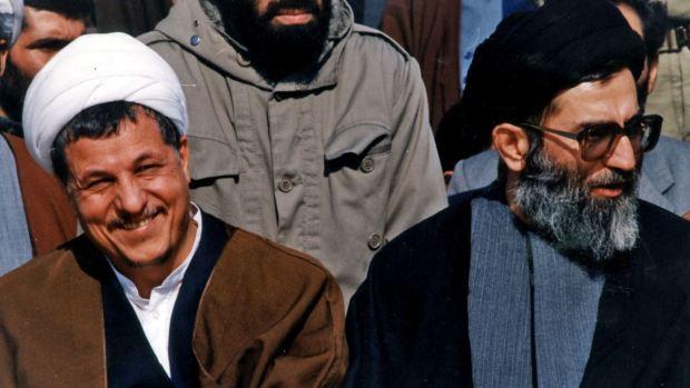 khamenei and rafsanjani