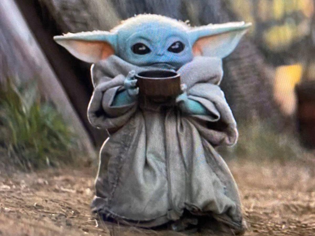 Mandalorian Baby Yoda Ipad Wallpaper