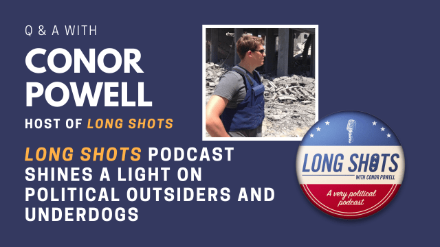 Q&A with Conor Powell, host of Long Shots