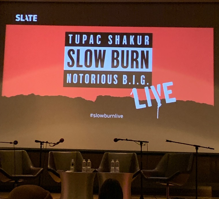 Slow Burn Podcast Live in NYC