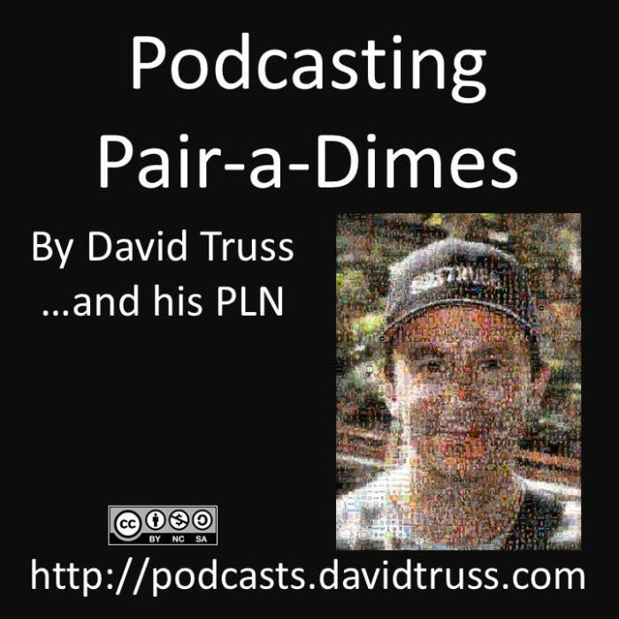 """""""Podcasting Pair a Dimes Cover Art"""""""