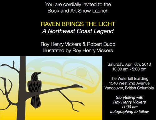"""Meet and hear Roy in Vancouver on April 6th, 2013."""