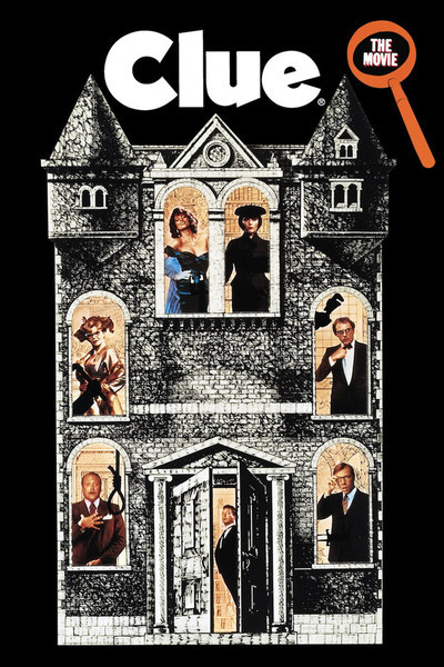 Clue 1985 movie poster