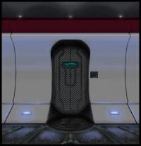 Futuristic Door Design