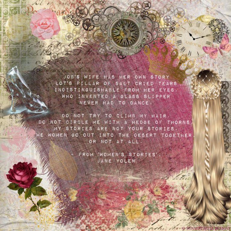Digital artwork using fairy tale