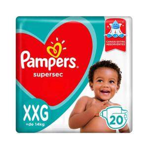 fralda pampers xxg