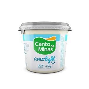 Requeijão Canto de Minas Amo Light 420g
