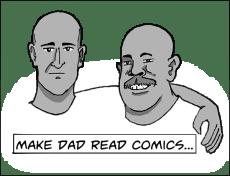 Make Dad Read Comics Logo