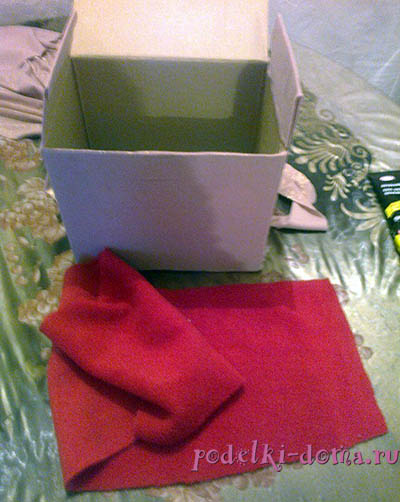 Casket out of the box