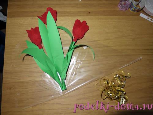 Cvety iz konfet5.