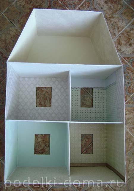 kukolny-domik3 Чего сделать кукольный дом. Кукольный домик своими руками: инструкции и советы по созданию. Чтобы сделать детский домик своими руками, нужно